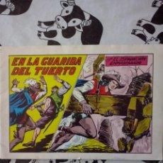 Tebeos: EDITORIAL VALENCIANA - EL ESPADACHIN ENMASCARADO NUM. 45 . BUEN ESTADO. Lote 60448487