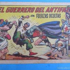 Tebeos: EL GUERRERO DEL ANTIFAZ , NUMERO 591 , VALENCIANA , ORIGINAL. Lote 60735195