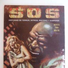 Tebeos: SOS S.O.S. SEGUNDA EPOCA 49. HISTORIAS DE TERROR, INTRIGA MISTERIO Y SUSPENSE. ED VALENCIANA, 1984 (. Lote 95841268