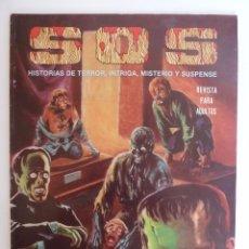 Tebeos: SOS S.O.S. SEGUNDA EPOCA 51. HISTORIAS DE TERROR, INTRIGA MISTERIO Y SUSPENSE. ED VALENCIANA, 1984 (. Lote 148336053