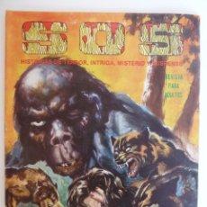Tebeos: SOS S.O.S. SEGUNDA EPOCA 53. HISTORIAS DE TERROR, INTRIGA MISTERIO Y SUSPENSE. ED VALENCIANA, 1984 (. Lote 148336041