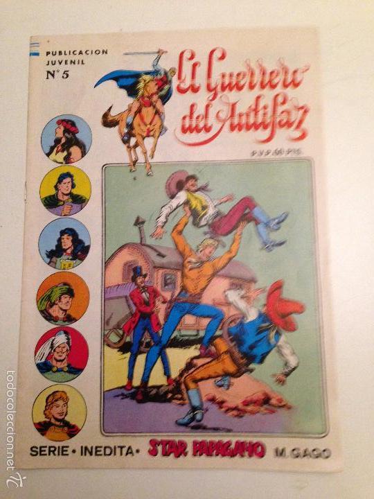 EL GUERRERO DEL ANTIFAZ. SERIE INEDITA. Nº 5. 1984 VALENCIANA. (Tebeos y Comics - Valenciana - Guerrero del Antifaz)