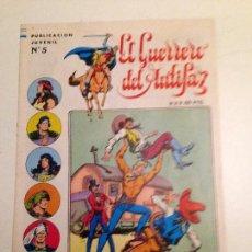 Tebeos: EL GUERRERO DEL ANTIFAZ. SERIE INEDITA. Nº 5. 1984 VALENCIANA. . Lote 61179731