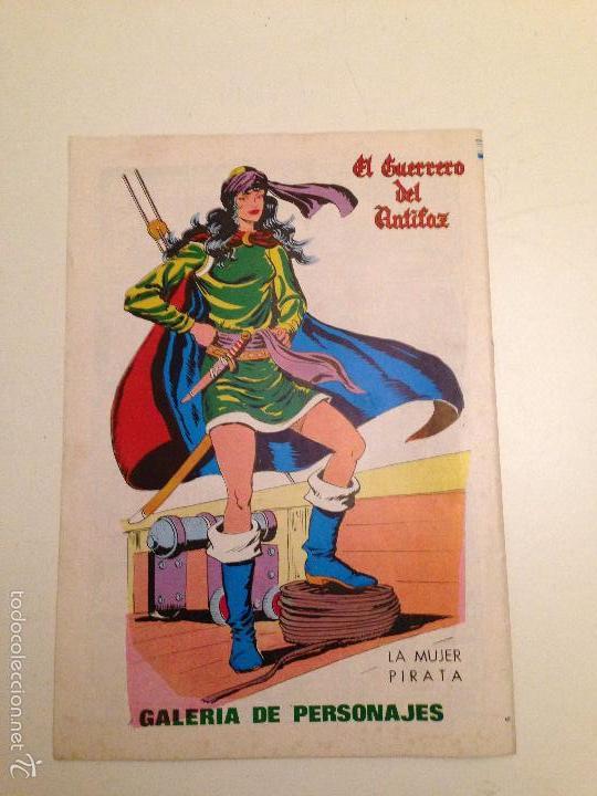 Tebeos: EL GUERRERO DEL ANTIFAZ. SERIE INEDITA. Nº 5. 1984 VALENCIANA. - Foto 3 - 61179731