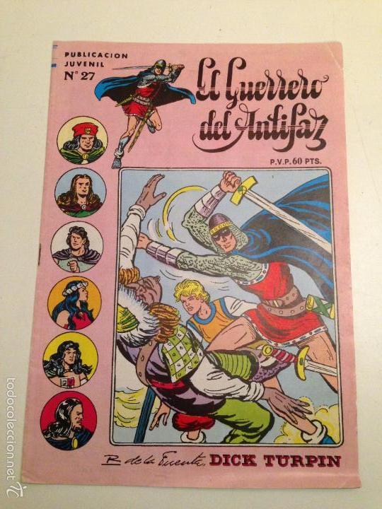 EL GUERRERO DEL ANTIFAZ. SERIE INEDITA. Nº 27. 1984 VALENCIANA. (Tebeos y Comics - Valenciana - Guerrero del Antifaz)