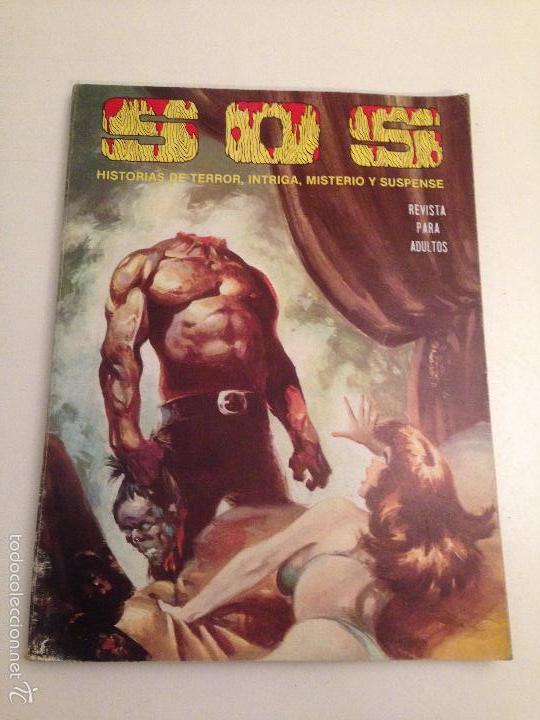 SOS RETAPADO CON LOS NUMEROS: 45, 46, 47, 48. VALENCIANA. (Tebeos y Comics - Valenciana - S.O.S)
