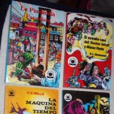 Tebeos: TOMOS 1,2,7 Y 8 (COLECCIÓN LIBROS GRAFICOS): DRÁCULA,JECKILL & HYDE, MAQUINA DEL TIEMPO Y PIMPINELA. Lote 61606328
