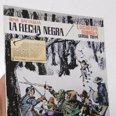 LA FLECHA NEGRA / LUCRECIA BORGIA - DINO BATTAGLIA / SERGIO TOPPI