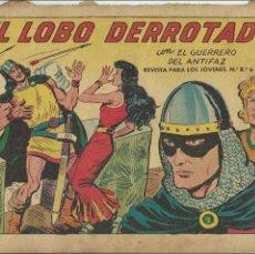 Tebeos: COMIC TEBEO EL GUERRERO DEL ANTIFAZ, EL LOBO DERROTADO EDITORIAL VALENCIANA.. Lote 61801172