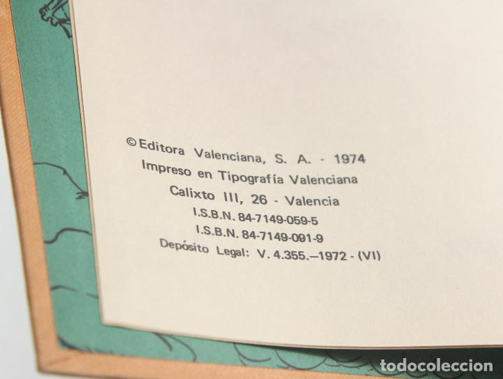 Tebeos: LOTE 4 TOMOS EL GUERRERO DEL ANTIFAZ TOMOS 3, 6, 10, 12 - VALENCIANA - Foto 4 - 61955628