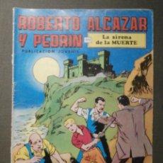 Tebeos: COMIC - ROBERTO ALCAZAR Y PEDRIN - LA SIRENA DE LA MUERTE - 2ª EPOCA - Nº 91 - VALENCIANA. Lote 62061900