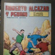 Tebeos: COMIC - ROBERTO ALCAZAR Y PEDRIN - EL PUENTE MALDITO - 2ª EPOCA - Nº 86 - VALENCIANA. Lote 62061996