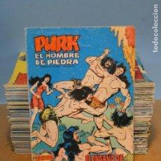 Livros de Banda Desenhada: PURK EL HOMBRE DE PIEDRA.-LOTE DE 106 NÚMEROS. Lote 62135976