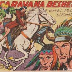 Tebeos: COMIC LA CARAVANA DESHECHA, CON EL PEQUEÑO LUCHADOR, EDITORIAL VALENCIANA, 1962.. Lote 62228352