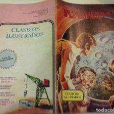Tebeos: COMIC VALENCIANA DE LA TIERRA A LA LUNA CLASICOS ILUSTRADOS 4 ÑA . Lote 62507640