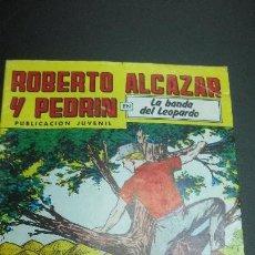Tebeos: ROBERTO ALCAZAR Y PEDRIN Nº 263. LA BANDA DEL LEOPARDO. ED. VALENCIANA 1981. Lote 62537912