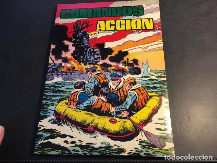 COMANDOS EN ACCION TOMO Nº 4 RETAPADO INCLUYENDO Nº 34, 35, 36 Y 37 (COI12) (Tebeos y Comics - Valenciana - Otros)