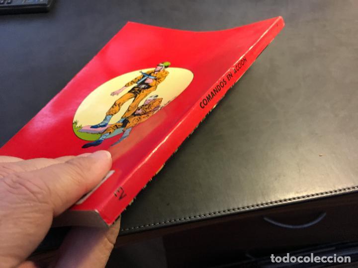 Tebeos: COMANDOS EN ACCION TOMO Nº 4 RETAPADO INCLUYENDO Nº 34, 35, 36 Y 37 (COI12) - Foto 2 - 62559484