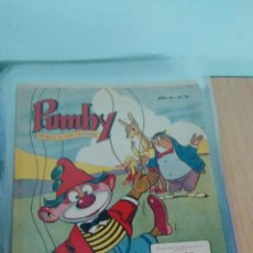 Tebeos: PUMBY Nº 81. VALENCIANA 1958. LICERAS. IMPECABLE. Lote 62637268