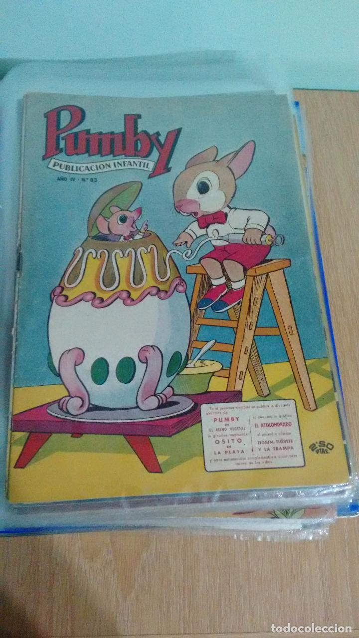 PUMBY Nº 83. VALENCIANA 1958. IMPECABLE (Tebeos y Comics - Valenciana - Pumby)