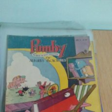 Tebeos: PUMBY Nº 85. VALENCIANA 1958. LICERAS. Lote 62637464