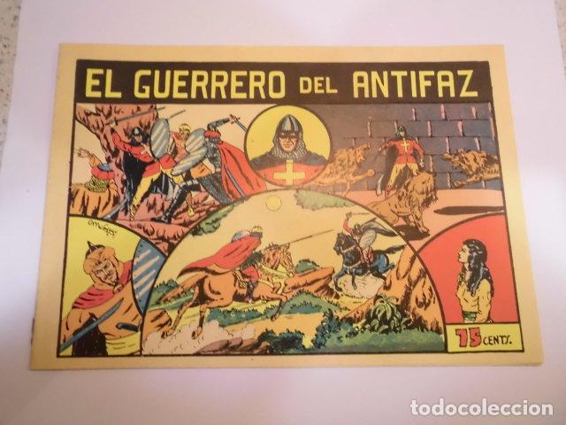 EL GUERRERO DEL ANTIFAZ - NUMERO 1 - VALENCIANA - FACSIMIL - NUEVO (Tebeos y Comics - Valenciana - Guerrero del Antifaz)