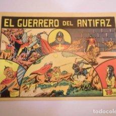 Tebeos: EL GUERRERO DEL ANTIFAZ - NUMERO 1 - VALENCIANA - FACSIMIL - NUEVO. Lote 62685972