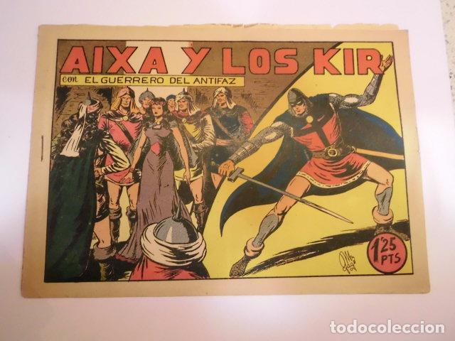 EL GUERRERO DEL ANTIFAZ - NUMERO 88 - AIXA Y LOS KIR - VALENCIANA - BUEN ESTADO (Tebeos y Comics - Valenciana - Guerrero del Antifaz)