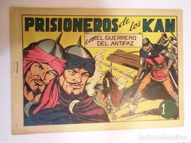 EL GUERRERO DEL ANTIFAZ - NUMERO 93 - PRISIONEROS DE LOS KAN- VALENCIANA - BUEN ESTADO (Tebeos y Comics - Valenciana - Guerrero del Antifaz)