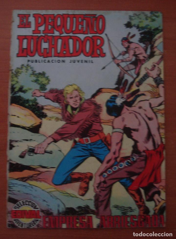 EL PEQUEÑO LUCHADOR. Nº 4. EMPRESA ARRIESGADA. EDITORIAL VALENCIANA. AÑO 1977. (Tebeos y Comics - Valenciana - Pequeño Luchador)