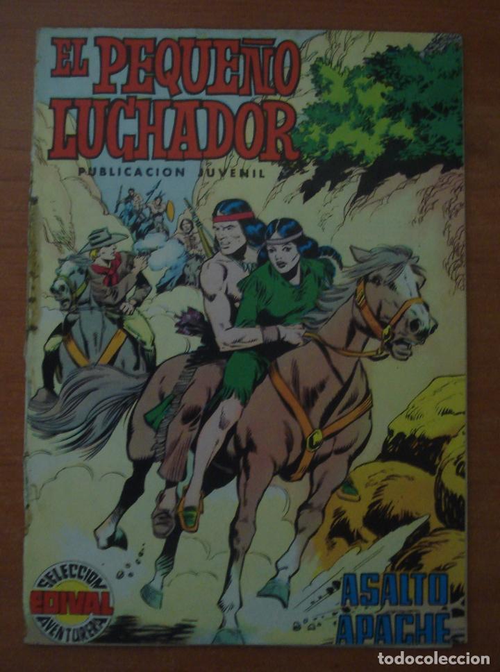 EL PEQUEÑO LUCHADOR. Nº 5. ASALTO APACHE. EDITORIAL VALENCIANA. AÑO 1977. (Tebeos y Comics - Valenciana - Pequeño Luchador)