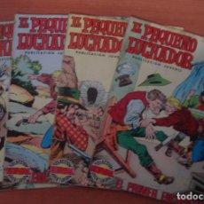 Tebeos: LOTE DE 4 COMICS EL PEQUEÑO LUCHADOR. MANUEL GAGO. EDITORIAL VALENCIANA. AÑO 1977.. Lote 62727516