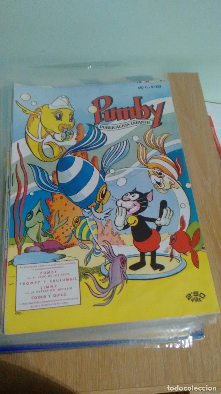 PUMBY Nº 153. VALENCIANA 1960. SORIANO IZQUIERDO. IMPECABLE (Tebeos y Comics - Valenciana - Pumby)