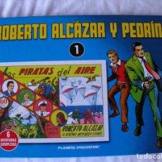 Tebeos: ROBERTO ALCAZAR Y PEDRIN. EDICION 2010. TOMO 1. CONTIENE 6 CAPITULOS. Lote 63445092