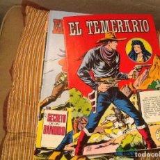 Tebeos: LOTE DE 6 COMICS EL TEMERARIO Nº 1,2,3,4,5,36-COLOSOS DEL CÓMIC. Lote 204134060