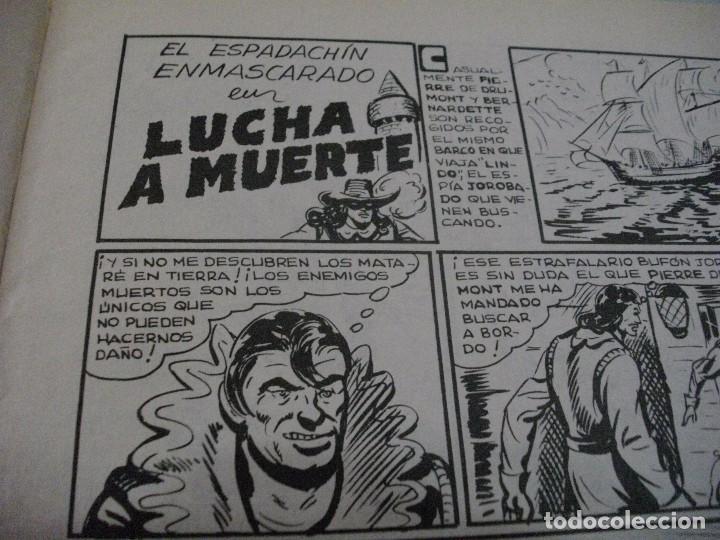 Tebeos: COMICS EL ESPADACHIN ENMASCARADO Nº 10 EL DE LAS FOTOS - VER TODOS MIS LOTES DE COMICS - Foto 8 - 63640951