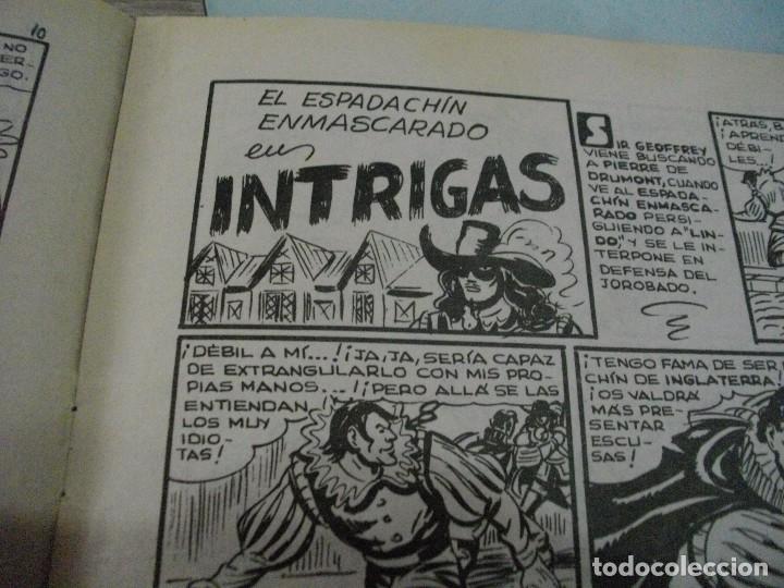 Tebeos: COMICS EL ESPADACHIN ENMASCARADO Nº 10 EL DE LAS FOTOS - VER TODOS MIS LOTES DE COMICS - Foto 9 - 63640951