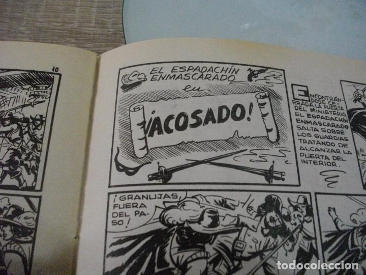Tebeos: COMICS EL ESPADACHIN ENMASCARADO Nº 10 EL DE LAS FOTOS - VER TODOS MIS LOTES DE COMICS - Foto 10 - 63640951