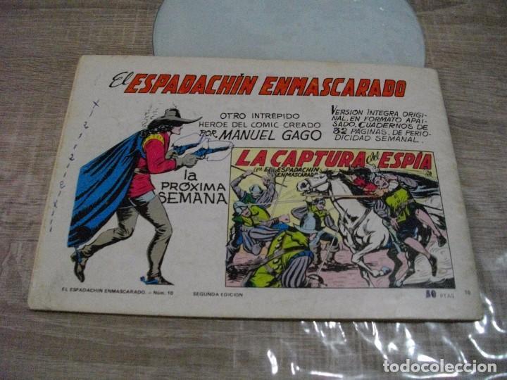 Tebeos: COMICS EL ESPADACHIN ENMASCARADO Nº 10 EL DE LAS FOTOS - VER TODOS MIS LOTES DE COMICS - Foto 12 - 63640951