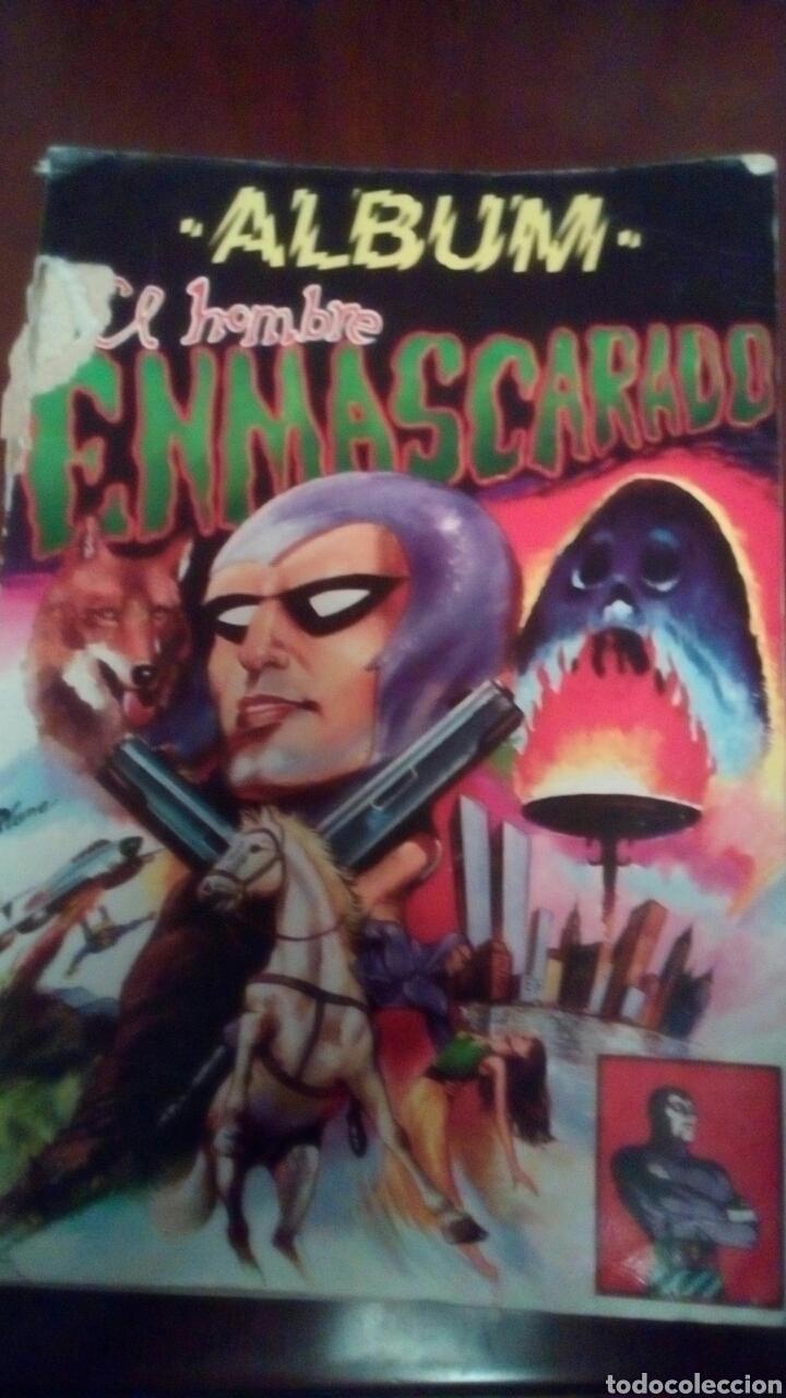 ALBUM EL HOMBRE ENMASCARADO N'1 AÑO 1980 (Tebeos y Comics - Valenciana - Espadachín Enmascarado)