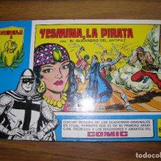 Tebeos: YESMINA, LA PIRATA CON EL GUERRERO DEL ANTIFAZ Nº80. Lote 64042459