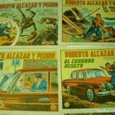 Tebeos: LOTE DE 4 TEBEOS ROBERTO ALCAZAR Y PEDRIN ORIGINALES. Lote 64381847