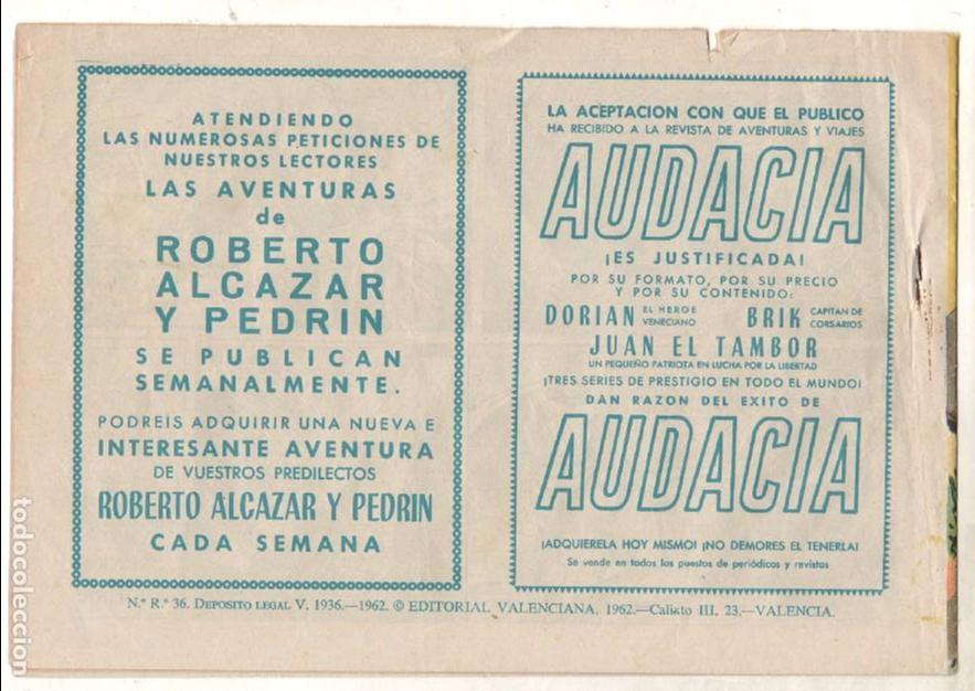 Tebeos: EL SARGENTO VIRUS ORIGINAL Nº 3 EDI. VALENCIANA 1962 - MAGNÍFICO ESTADO, VER IMAGENES - Foto 2 - 65423219