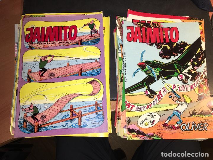 JAIMITO LOTE 67 EJEMPLARES DE LOS ULTIMOS (ORIGINALES VALENCIANA) MUY BUEN ESTADO (COIB122) (Tebeos y Comics - Valenciana - Jaimito)