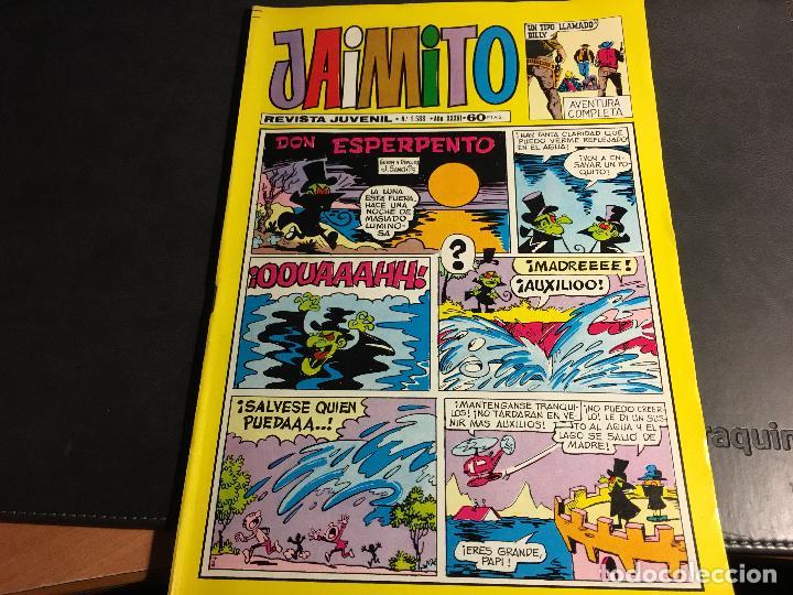 Tebeos: JAIMITO LOTE 67 EJEMPLARES DE LOS ULTIMOS (ORIGINALES VALENCIANA) MUY BUEN ESTADO (COIB122) - Foto 4 - 65798122