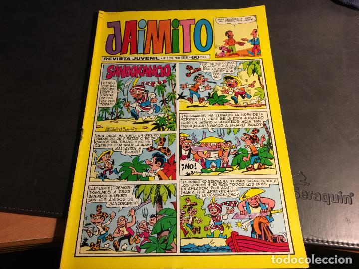 Tebeos: JAIMITO LOTE 67 EJEMPLARES DE LOS ULTIMOS (ORIGINALES VALENCIANA) MUY BUEN ESTADO (COIB122) - Foto 5 - 65798122