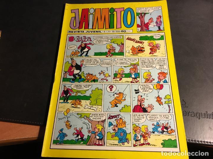 Tebeos: JAIMITO LOTE 67 EJEMPLARES DE LOS ULTIMOS (ORIGINALES VALENCIANA) MUY BUEN ESTADO (COIB122) - Foto 6 - 65798122