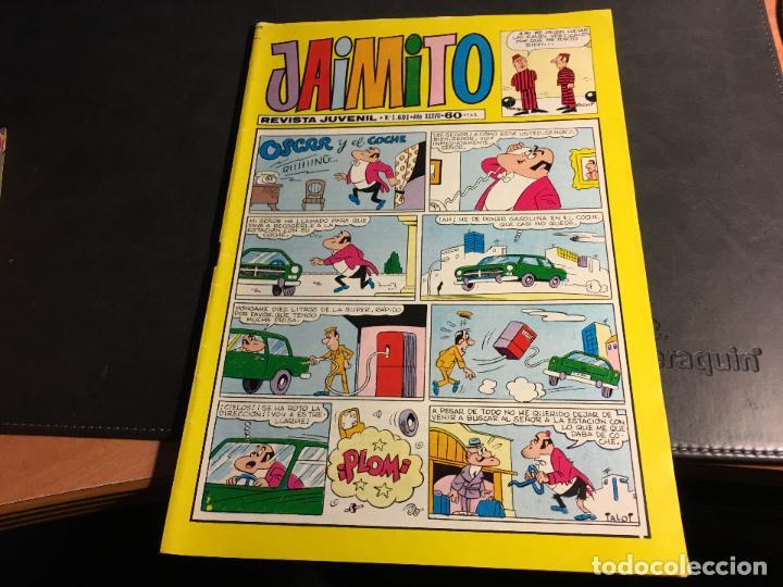 Tebeos: JAIMITO LOTE 67 EJEMPLARES DE LOS ULTIMOS (ORIGINALES VALENCIANA) MUY BUEN ESTADO (COIB122) - Foto 9 - 65798122