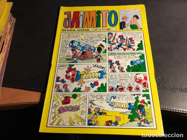 Tebeos: JAIMITO LOTE 67 EJEMPLARES DE LOS ULTIMOS (ORIGINALES VALENCIANA) MUY BUEN ESTADO (COIB122) - Foto 12 - 65798122