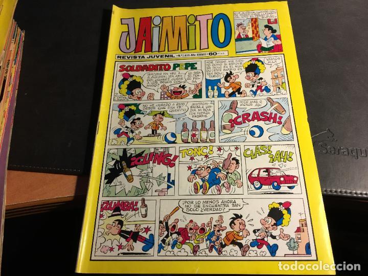 Tebeos: JAIMITO LOTE 67 EJEMPLARES DE LOS ULTIMOS (ORIGINALES VALENCIANA) MUY BUEN ESTADO (COIB122) - Foto 17 - 65798122